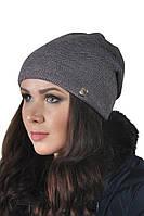 Красивая женская шапка ArtBelleza Гладь Твит