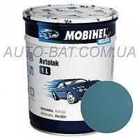 Автоэмаль однокомпонентная автокраска алкидная 427 Серо-голубая Mobihel, 1 л