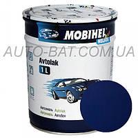 Автоэмаль однокомпонентная автокраска алкидная 447 Синяя ночь Mobihel, 1 л