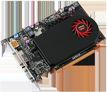 Видеокарта Radeon HD6670 (1Gb/GDDR5/128bit/VGA/DVI) БУ