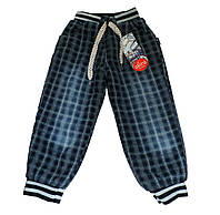 Джинсовые зимние брюки для мальчиков