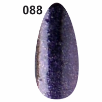 Гель-лак для ногтей Christian №088 (фиолетовый с мерцанием)