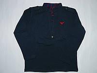 Кофта-рубашка обманка 3-12 лет