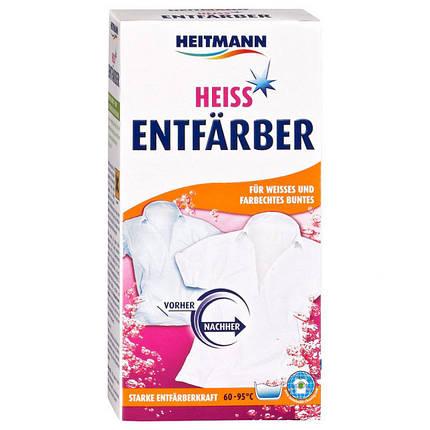 Средство для обесцвечивания белых и цветных тканей с прочной краской Heitmann 75г, фото 2