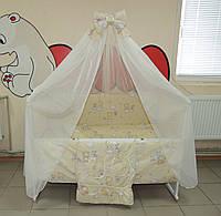 Готовый Комплект для сна с детской кроваткой - 25 предметов! Кроватка с выдвижным ящиком + Постельно