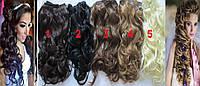 Набор Волос на заколках.В наличии!цвета! Кудрявые!локоны