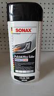 Polish&Wax Color цветная полироль с воском БЕЛАЯ + восковый карандаш 500 мл, SONAX, арт.296000, Днепр