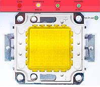 Светодиодная матрица прожектора красная (50 Вт)