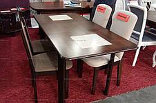 Стол  на кухню  Бостон Микс мебель, цвет темный орех, фото 2