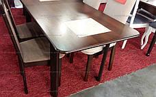 Стол  на кухню  Бостон Микс мебель, цвет темный орех, фото 3