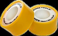 Тефлоновая уплотнительная лента для труб, 19мм х 15м, PTFE