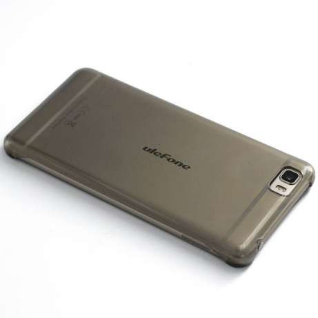 Якісний жорсткий бампер фірми Ocube для смартфона Ulefone Future сірий
