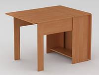 Раскладной стол книжка–1 производства мебельной фабрики Компанит