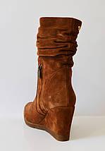 Женские рыжие ботинки Guero 856, фото 2