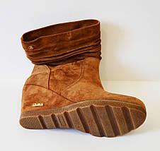 Женские рыжие ботинки Guero 856, фото 3