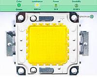 Светодиодная матрица прожектора зеленая (30 Вт)