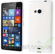 Чехол ТМ Mercury для Microsoft Lumia 535 Белый