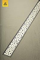 Душевой трап 65 см с декоративной решеткой Квадраты MCH Чехия