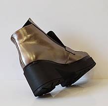 Женские осенние ботинки Aquamarine 1500, фото 3