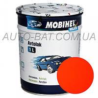 Автоэмаль однокомпонентная автокраска алкидная Kamaz КАМАЗ оранжевая Mobihel, 1 л
