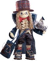 """Текстильная каркасная кукла """"Гек"""""""