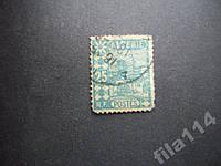 Марка Алжир 1926 колония 25 сентим