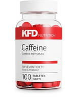 Энергетики  KFD Nutrition Caffeine 100 tabs