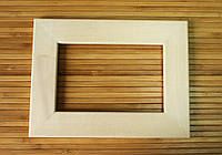 Деревянная рамка 30x40 см (липа плоский 34 мм), фото 1