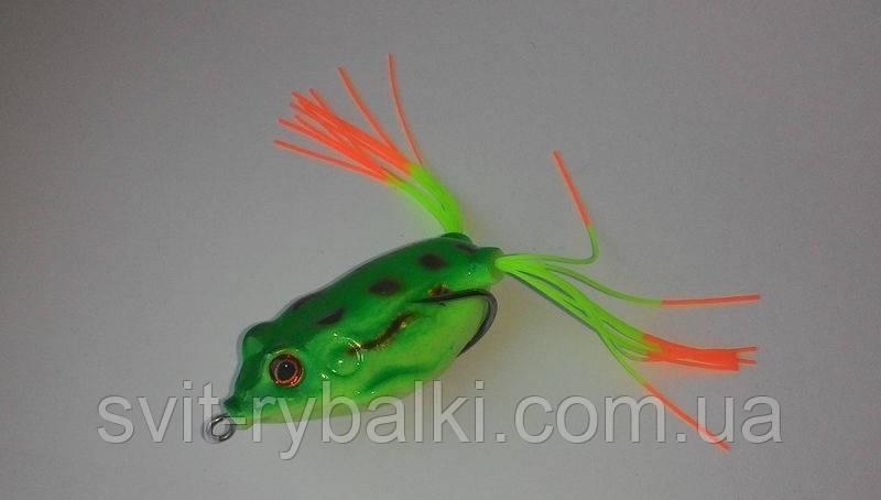 Воблер лягушка незацепляйка силиконовая