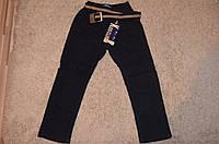 Утепленные котоновые брюки на флисовой подкладке для мальчиков Nice Wear98-128 см