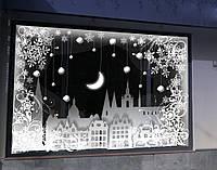 Новогодний декор. Украшение офиса, витрины к Новому году