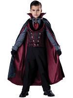 Прокат карнавального костюма Вампир с плащем