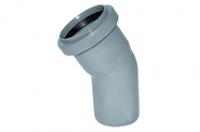 Коліно ПВХ діаметр 50 х 30*