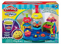 "Набор пластилина Play-Doh PLUS ""Фабрика пирожных"" Hasbro"