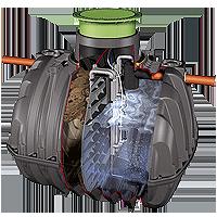 AS-KLARO PZV- это модульные локальные сооружения очистки хозяйственно-бытовых сточных вод