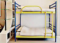 Кровать двухярусная Fly Duo / Флай Дуо 1730х860х2080мм Метакам металическая  80