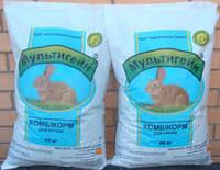Комбікорм для кролів з люцерною тм Мультигейн
