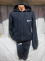Спортивный костюм мужской трикотаж на флисе Nike