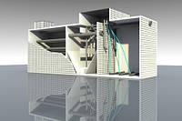 AS-VARIO comp N - локальное очистное сооружение модульного типа для очистки хозяйственно-бытовых сточных.
