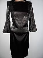 """Женское платье """"Амели""""  черное"""