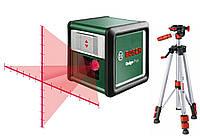 Лазерный уровень нивелир Bosch Quigo Plus со штативом (0603663600)