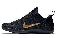 Кроссовки баскетбольные Nike Kobe 11 Elite (найк коби 11 элит) черные