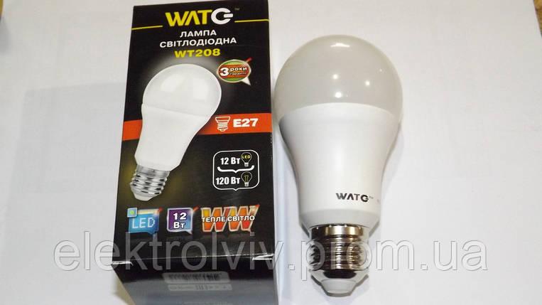 LED лампа 12 W ,3000К, Е27, 1000Lm, фото 2