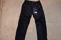 Утепленные вельветовые брюки на флисовой подкладке для мальчиков Egret 98-128  cм