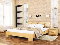 Кровать Титан Бук Щит 102 (Эстелла-ТМ)