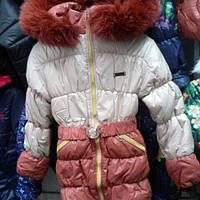 Детская зимняя курточка Глория с мехом