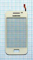 Тачскрин сенсорное стекло для Samsung S5830 Galaxy Ace white