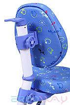 Детское компьютерное ортопедическое кресло растишка Ergoway M350 blue, фото 3