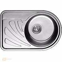 Кухонная мойка ULA HB 7111 ZS (L/R)  ø668*442 polish