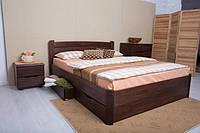 Кровать из бука с ящиками для белья София